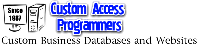 MS Access developers, consulting, programming